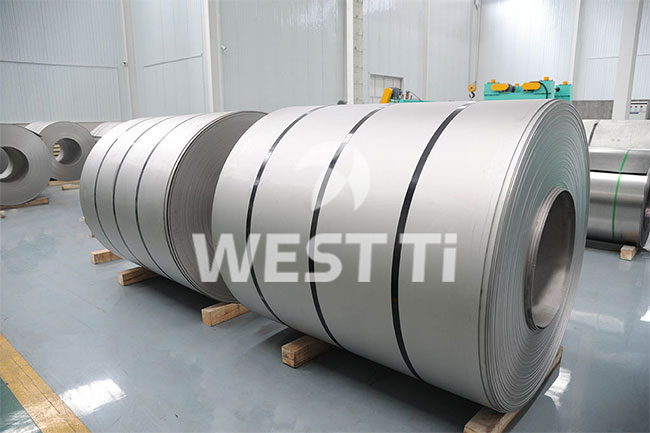 Titanium-coil-(cold-rolled-pickling-surface)